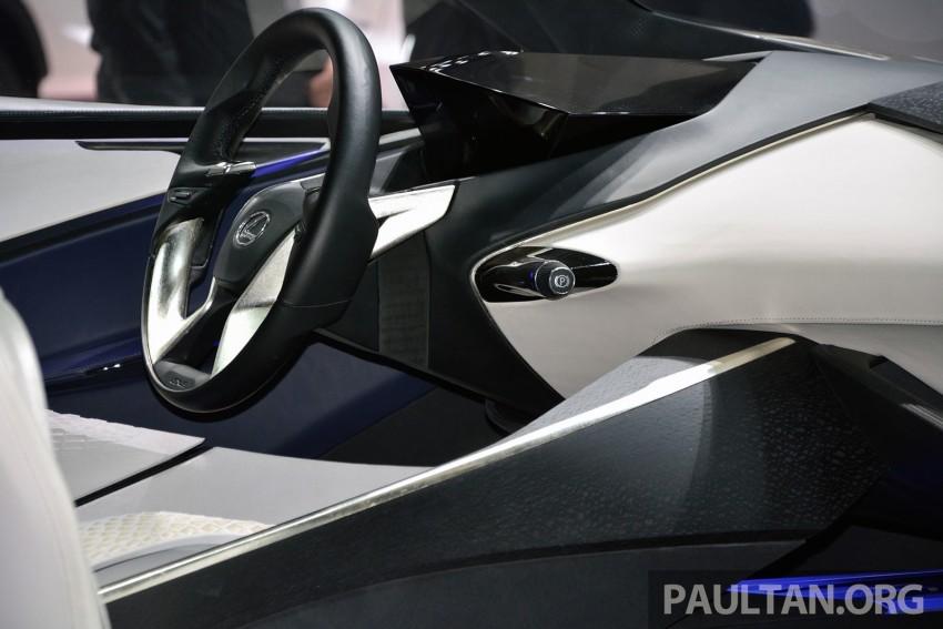 Lexus LF-SA – 2+2 city car study debuts in Geneva Image #315933
