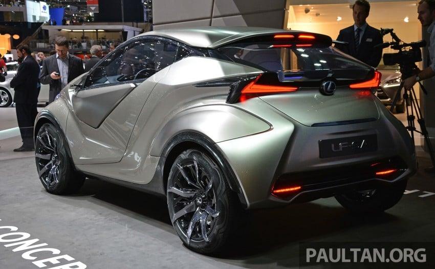 Lexus LF-SA – 2+2 city car study debuts in Geneva Image #315937