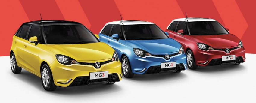 MG3 launched in Thailand with eco car price – Malaysia next stop for the Thai-assembled hatch Image #319724