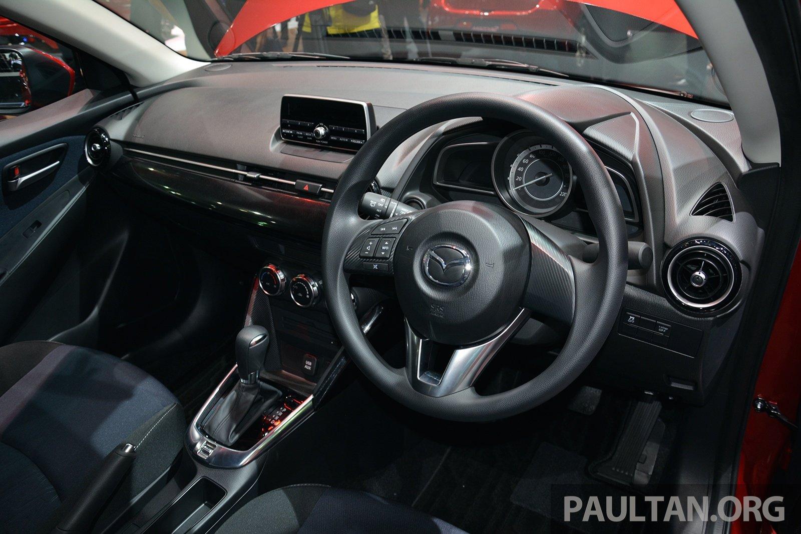 Mazda 2 1 3 Skyactiv G Petrol Unveiled In Bangkok Paul Tan
