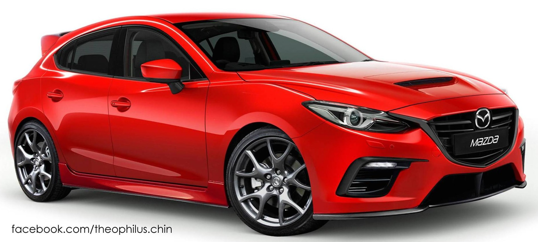 Mazda 3 MPS rendered; hot hatch to revive MPS badge Paul ...
