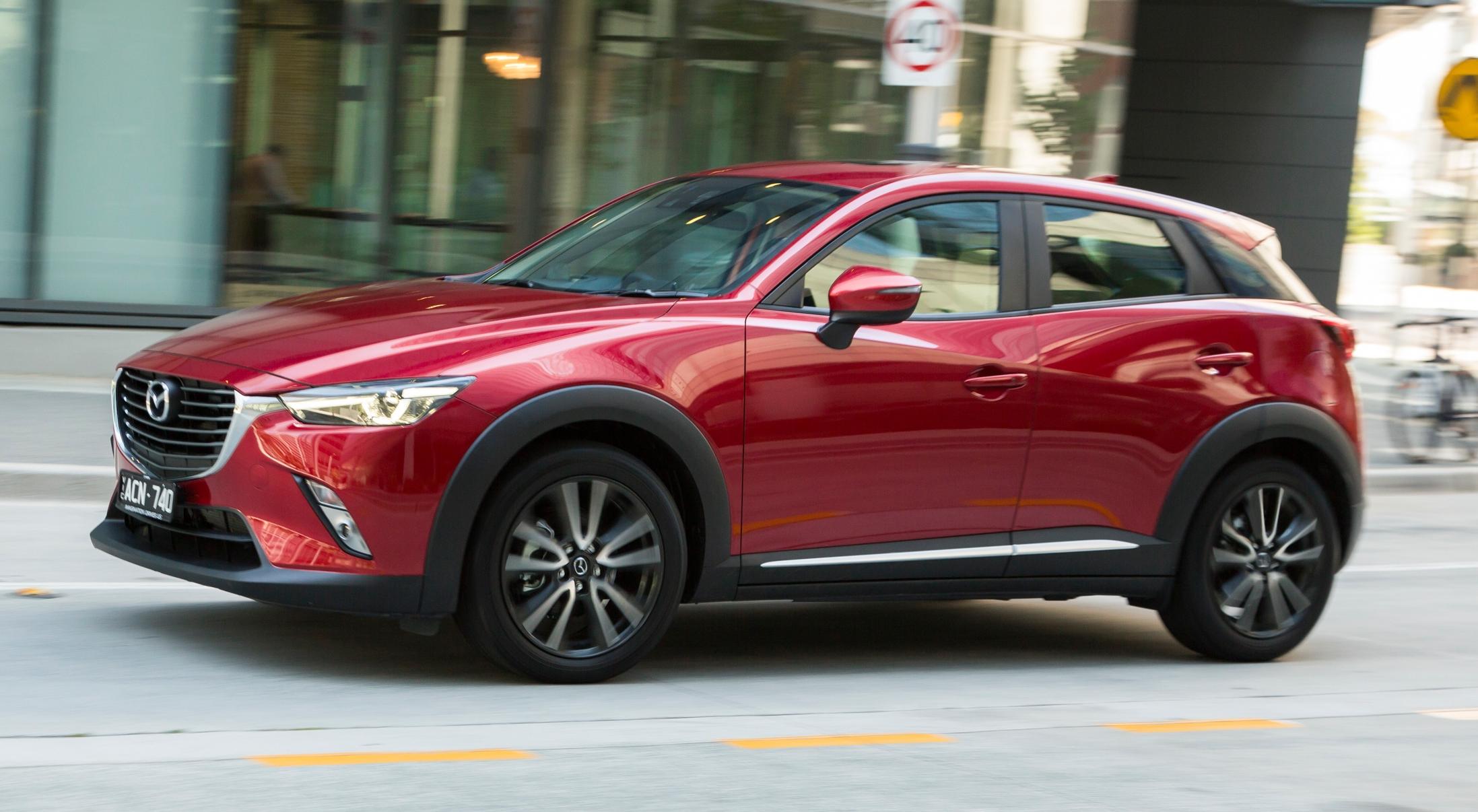 Mazda Cx 3 >> GALLERY: Mazda CX-3 – Australia gets four grades Image 319561