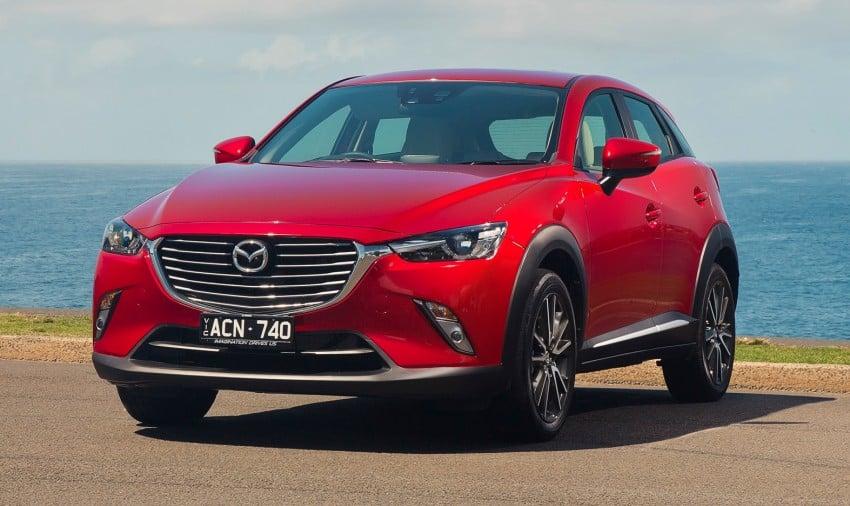 Mazda Cx 3 >> GALLERY: Mazda CX-3 – Australia gets four grades Paul Tan - Image 319557