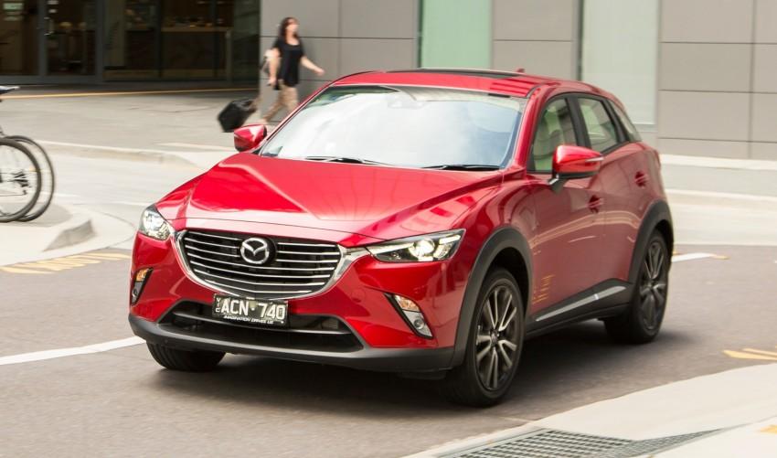 GALLERY: Mazda CX-3 – Australia gets four grades Image #319553