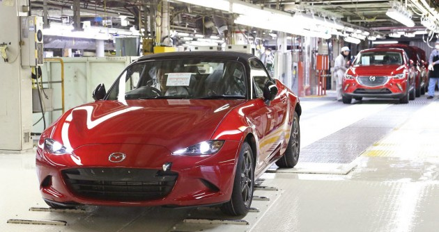 Mazda MX-5 production Japan