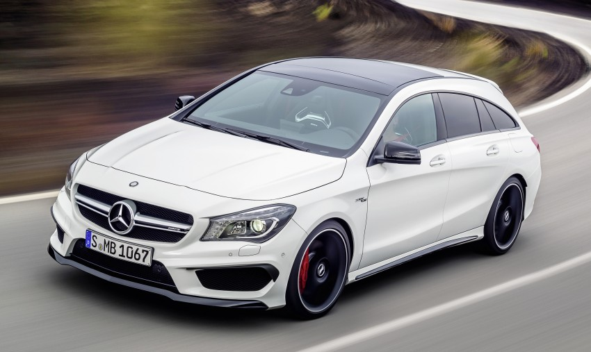 GALLERY: Mercedes CLA 45 AMG Shooting Brake Image #316833