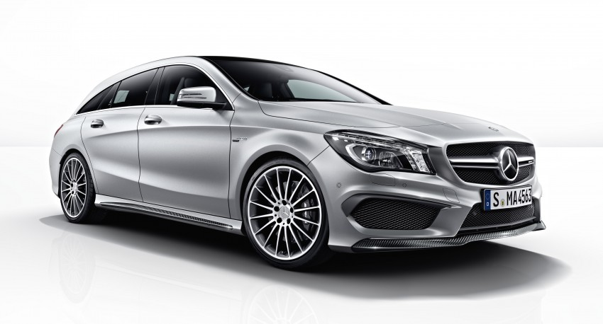 GALLERY: Mercedes CLA 45 AMG Shooting Brake Image #316849