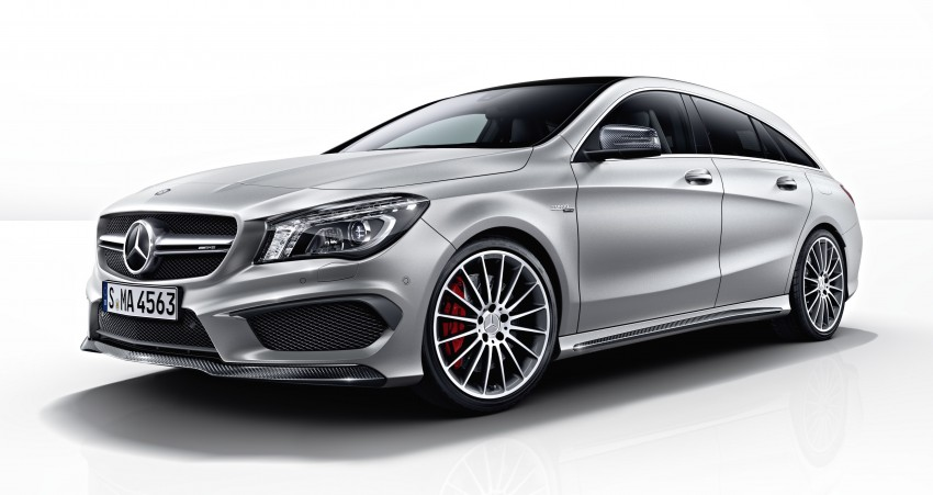 GALLERY: Mercedes CLA 45 AMG Shooting Brake Image #316850