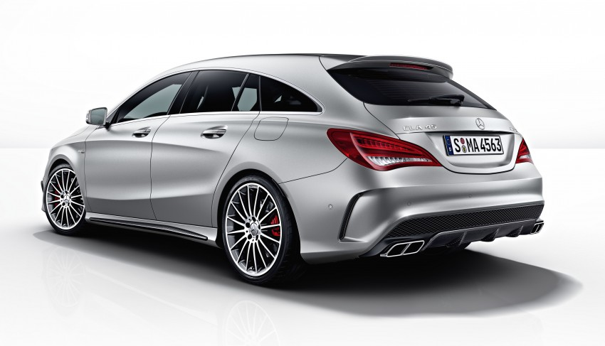 GALLERY: Mercedes CLA 45 AMG Shooting Brake Image #316851