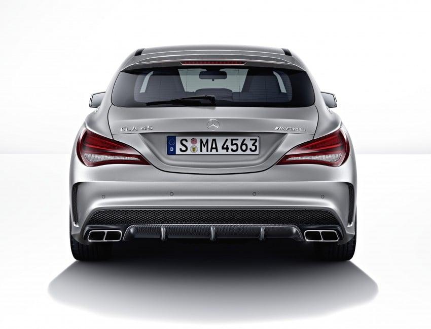 GALLERY: Mercedes CLA 45 AMG Shooting Brake Image #316855