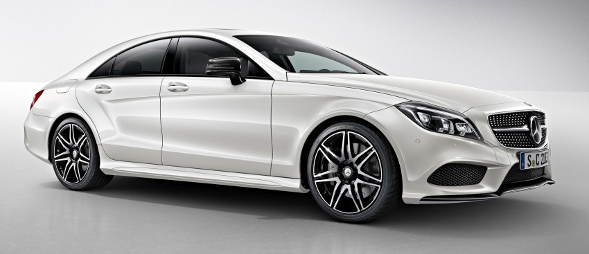 Mercedes-Benz CLS 400 facelift previewed in Malaysia Image #321339