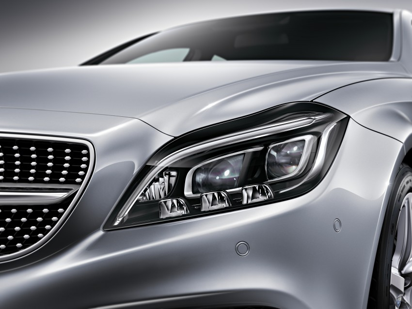 Mercedes-Benz CLS 400 facelift previewed in Malaysia Image #321349