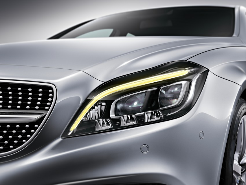Mercedes-Benz CLS 400 facelift previewed in Malaysia Image #321350