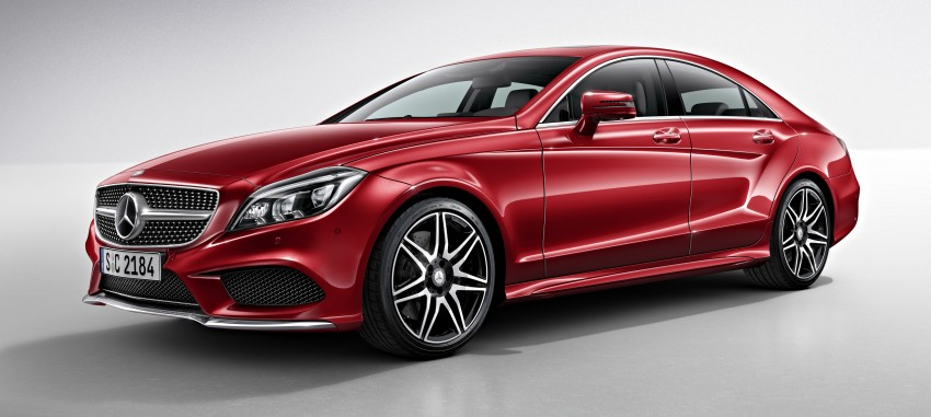 Mercedes-Benz CLS 400 facelift previewed in Malaysia Image #321338