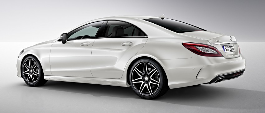 Mercedes-Benz CLS 400 facelift previewed in Malaysia Image #321342