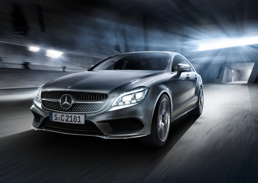 Mercedes-Benz CLS 400 facelift previewed in Malaysia Image #321354