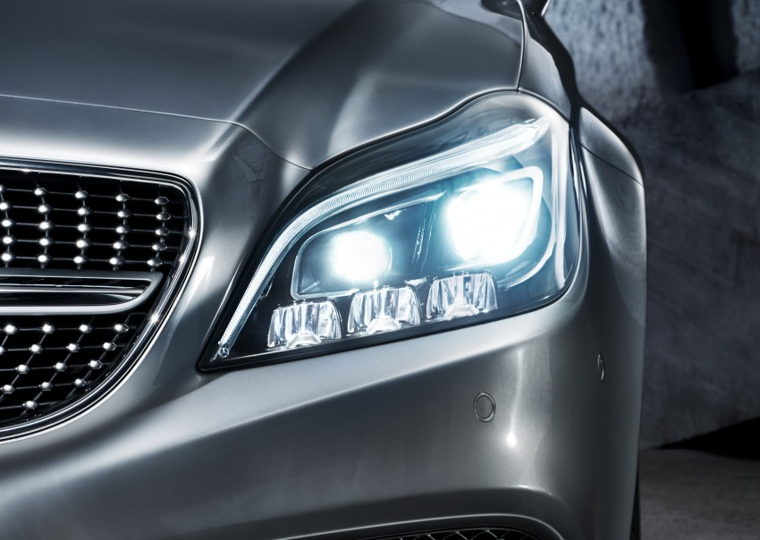 Mercedes-Benz CLS 400 facelift previewed in Malaysia Image #321355