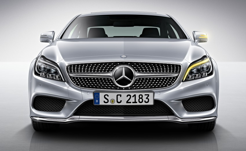 Mercedes-Benz CLS 400 facelift previewed in Malaysia Image #321337