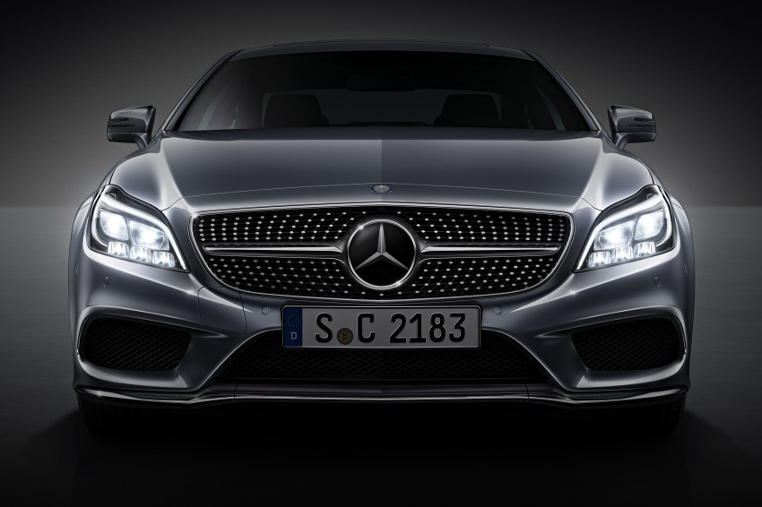 Mercedes-Benz CLS 400 facelift previewed in Malaysia Image #321335