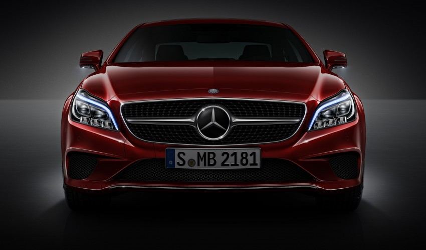 Mercedes-Benz CLS 400 facelift previewed in Malaysia Image #321334