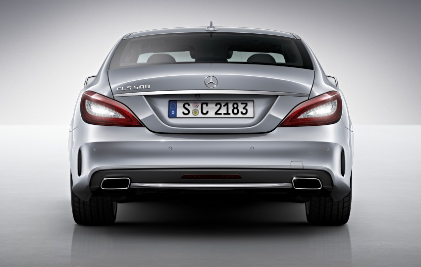 Mercedes-Benz CLS 400 facelift previewed in Malaysia Image #321333