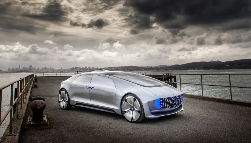 DRIVEN: Mercedes-Benz F 015 Luxury In Motion in SF Image #322080