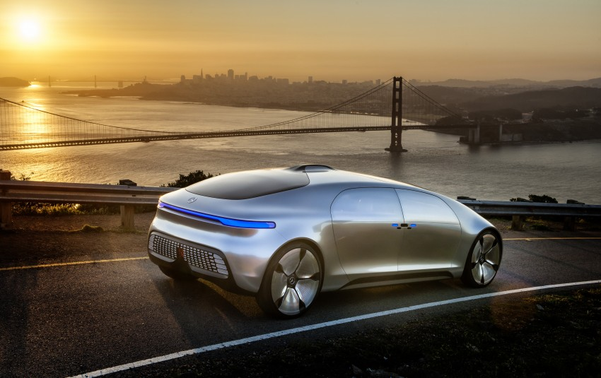 DRIVEN: Mercedes-Benz F 015 Luxury In Motion in SF Image #322078