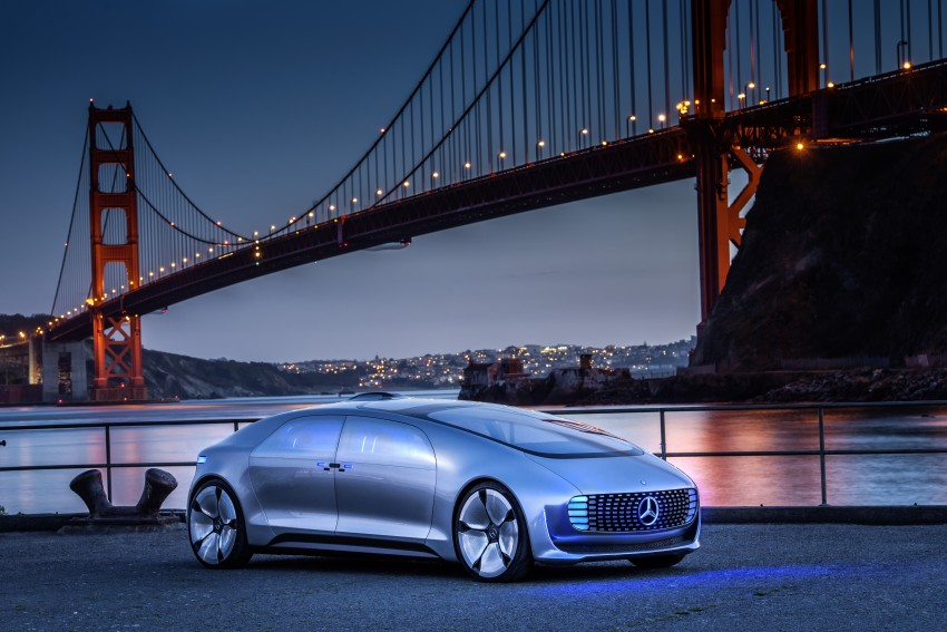 DRIVEN: Mercedes-Benz F 015 Luxury In Motion in SF Image #322077