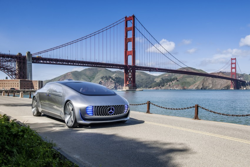 DRIVEN: Mercedes-Benz F 015 Luxury In Motion in SF Image #322075