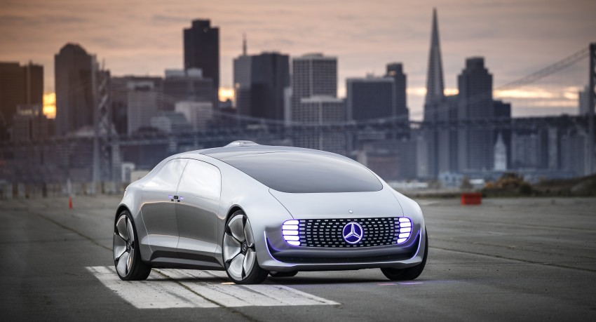 DRIVEN: Mercedes-Benz F 015 Luxury In Motion in SF Image #322073
