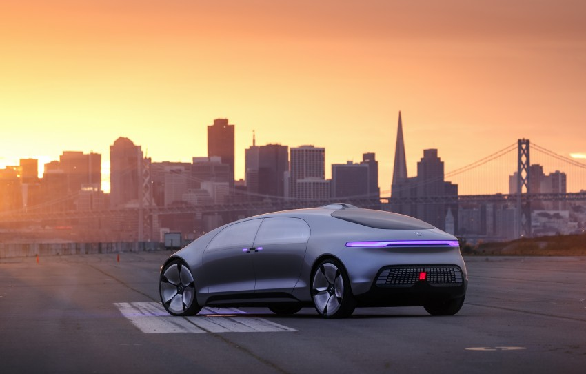 DRIVEN: Mercedes-Benz F 015 Luxury In Motion in SF Image #322072