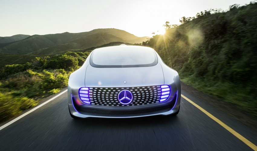 DRIVEN: Mercedes-Benz F 015 Luxury In Motion in SF Image #322071