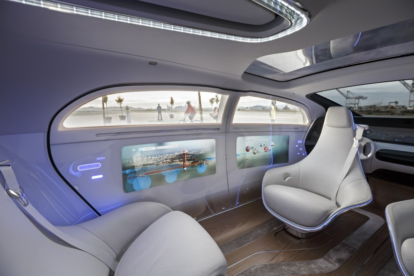 DRIVEN: Mercedes-Benz F 015 Luxury In Motion in SF Image #322070