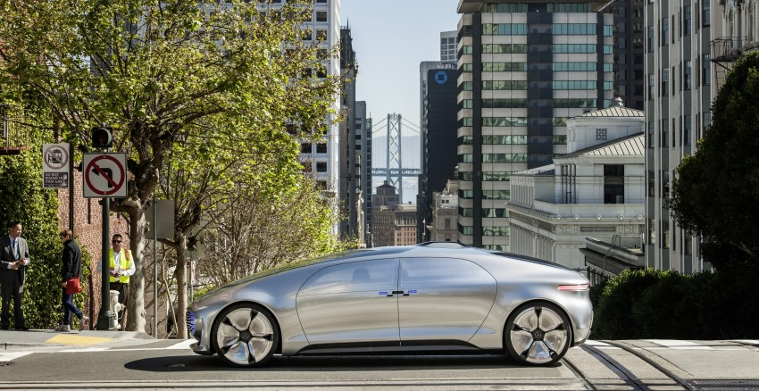 DRIVEN: Mercedes-Benz F 015 Luxury In Motion in SF Image #322066
