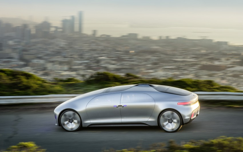 DRIVEN: Mercedes-Benz F 015 Luxury In Motion in SF Image #322063