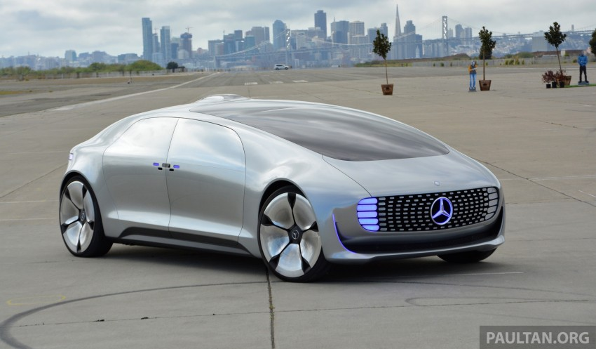 DRIVEN: Mercedes-Benz F 015 Luxury In Motion in SF Image #322153