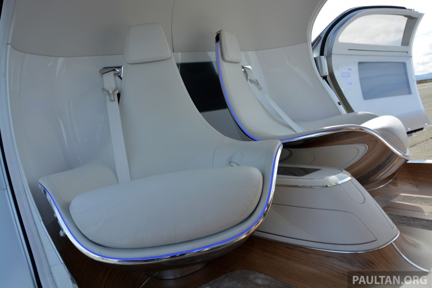 DRIVEN: Mercedes-Benz F 015 Luxury In Motion in SF Image #322144