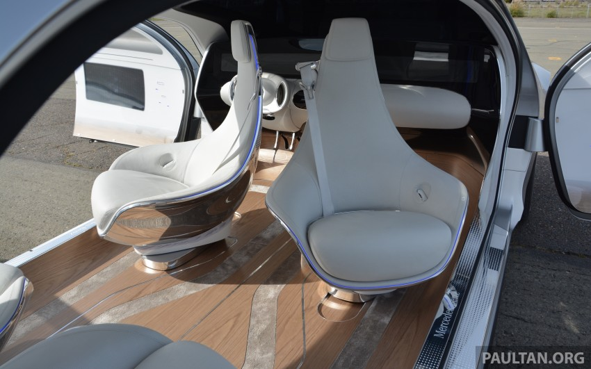 DRIVEN: Mercedes-Benz F 015 Luxury In Motion in SF Image #322143