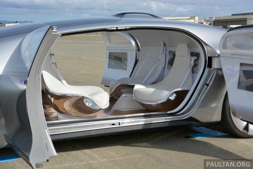 DRIVEN: Mercedes-Benz F 015 Luxury In Motion in SF Image #322141