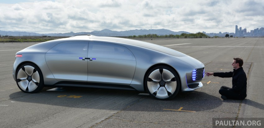 DRIVEN: Mercedes-Benz F 015 Luxury In Motion in SF Image #322140