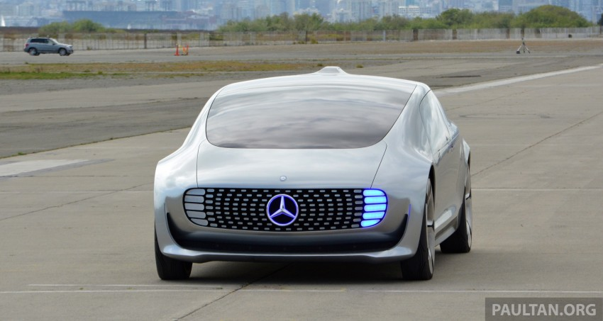 DRIVEN: Mercedes-Benz F 015 Luxury In Motion in SF Image #322136