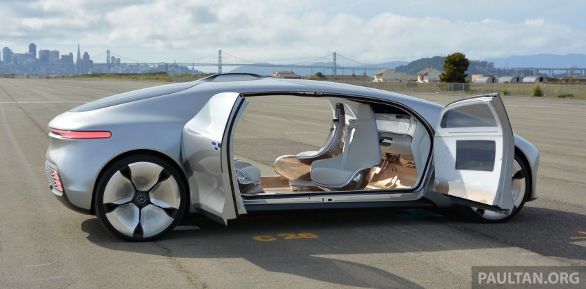 DRIVEN: Mercedes-Benz F 015 Luxury In Motion in SF Image #322135