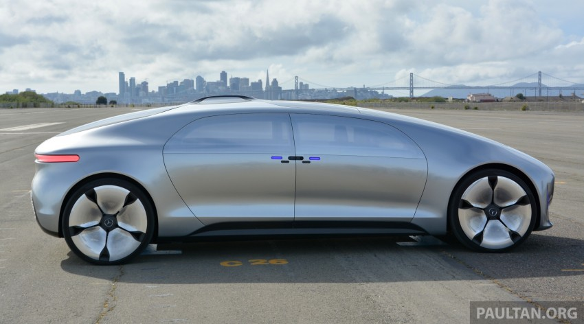 DRIVEN: Mercedes-Benz F 015 Luxury In Motion in SF Image #322152