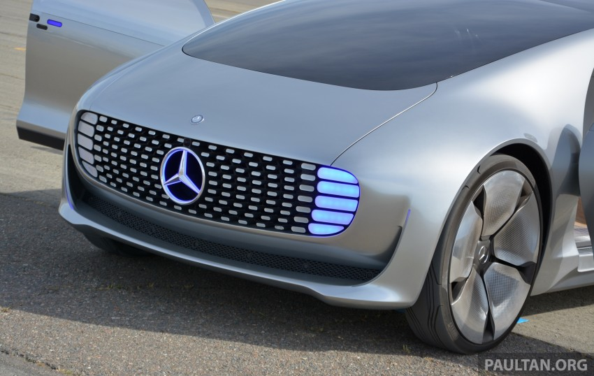 DRIVEN: Mercedes-Benz F 015 Luxury In Motion in SF Image #322132