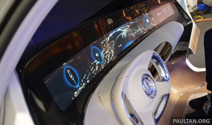 DRIVEN: Mercedes-Benz F 015 Luxury In Motion in SF Image #322126