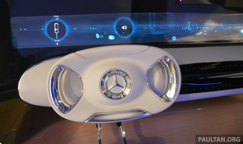 DRIVEN: Mercedes-Benz F 015 Luxury In Motion in SF Image #322124