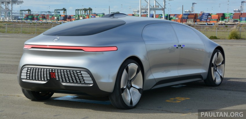 DRIVEN: Mercedes-Benz F 015 Luxury In Motion in SF Image #322150