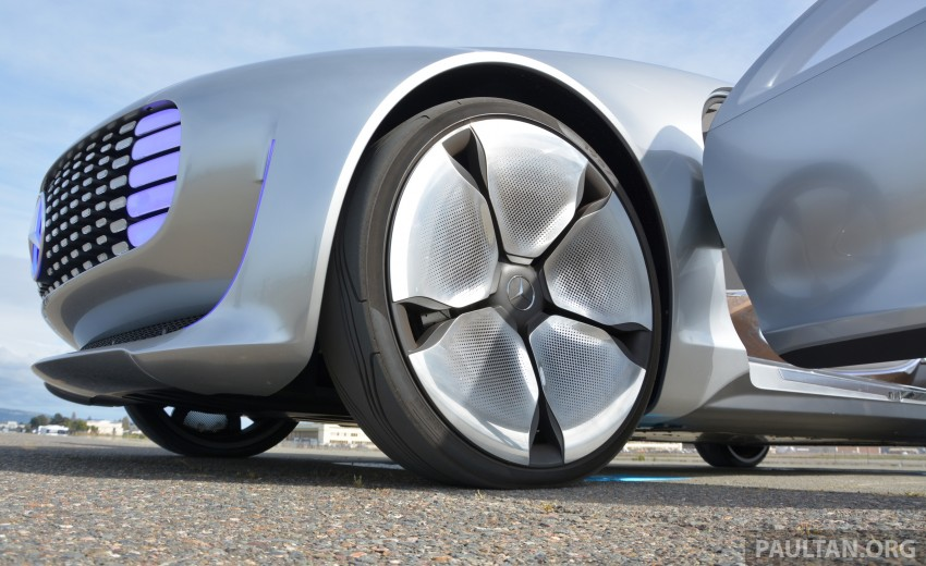 DRIVEN: Mercedes-Benz F 015 Luxury In Motion in SF Image #322109