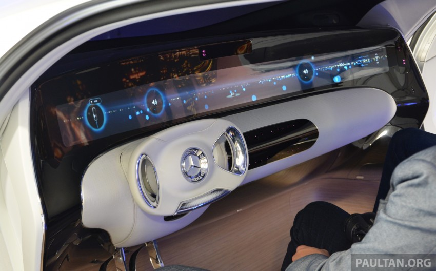 DRIVEN: Mercedes-Benz F 015 Luxury In Motion in SF Image #322099
