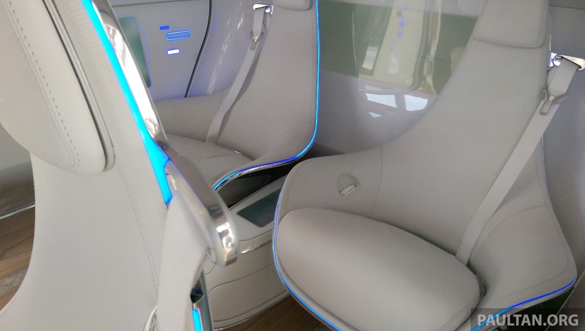 DRIVEN: Mercedes-Benz F 015 Luxury In Motion in SF Image #322094